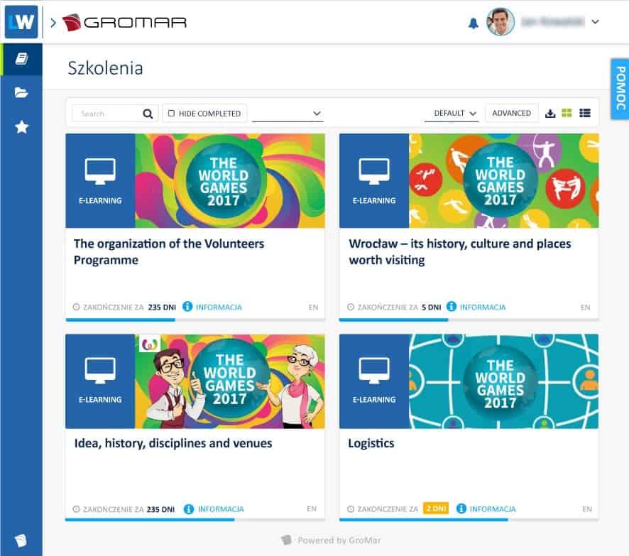 Screen z platformy LW3